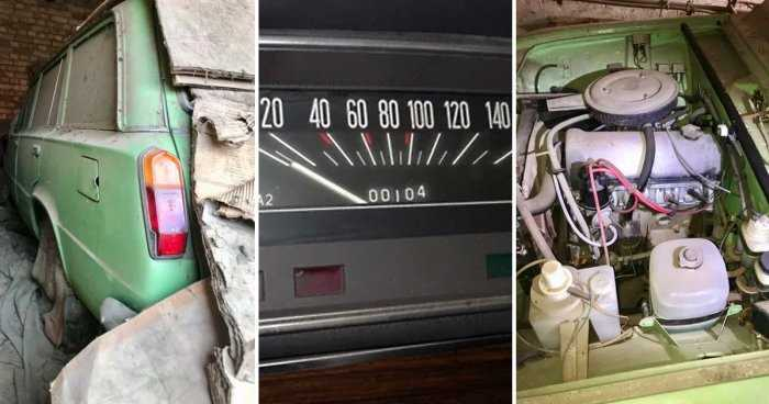 В Угорщині знайшли забутий на 20 років автомобіль ВАЗ 2102 з пробігом близько 100 км