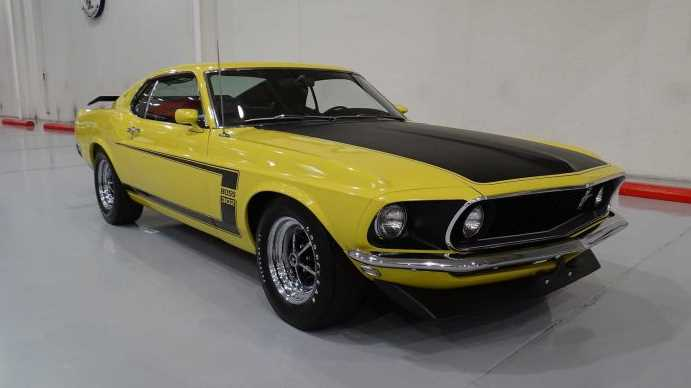 Унікальний Mustang 1969 року продадуть з аукціону