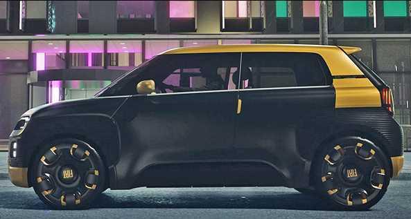 FIAT представив свій перший електрокар з цікавими рішеннями!